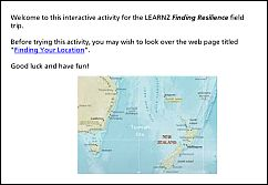 Activity 1 - Finding Your Location