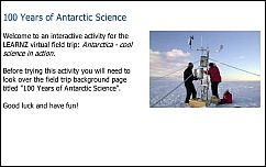100 Years of Antarctic Science quiz