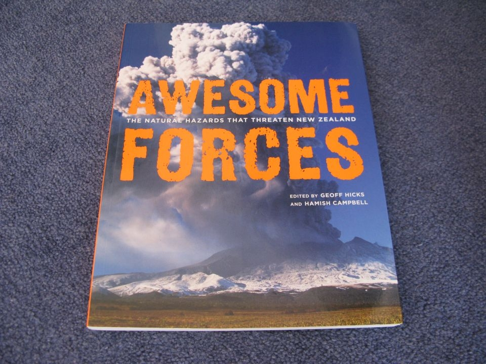 "Complete your evaluation to go into the draw to win the book ""Awesome Forces"". Image: LEARNZ."