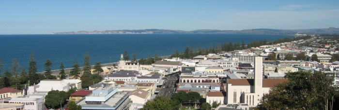 Napier from Bluff Hill by Robyn Gallagher