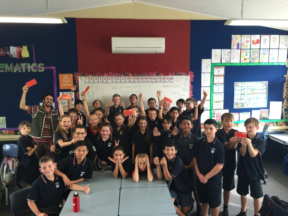 Congratulations to this class from Pukekohe Intermediate who won the evaluation prize.
