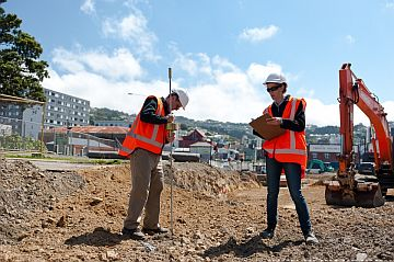 Example of careers on the Memorial Park project - Image: NZTA.