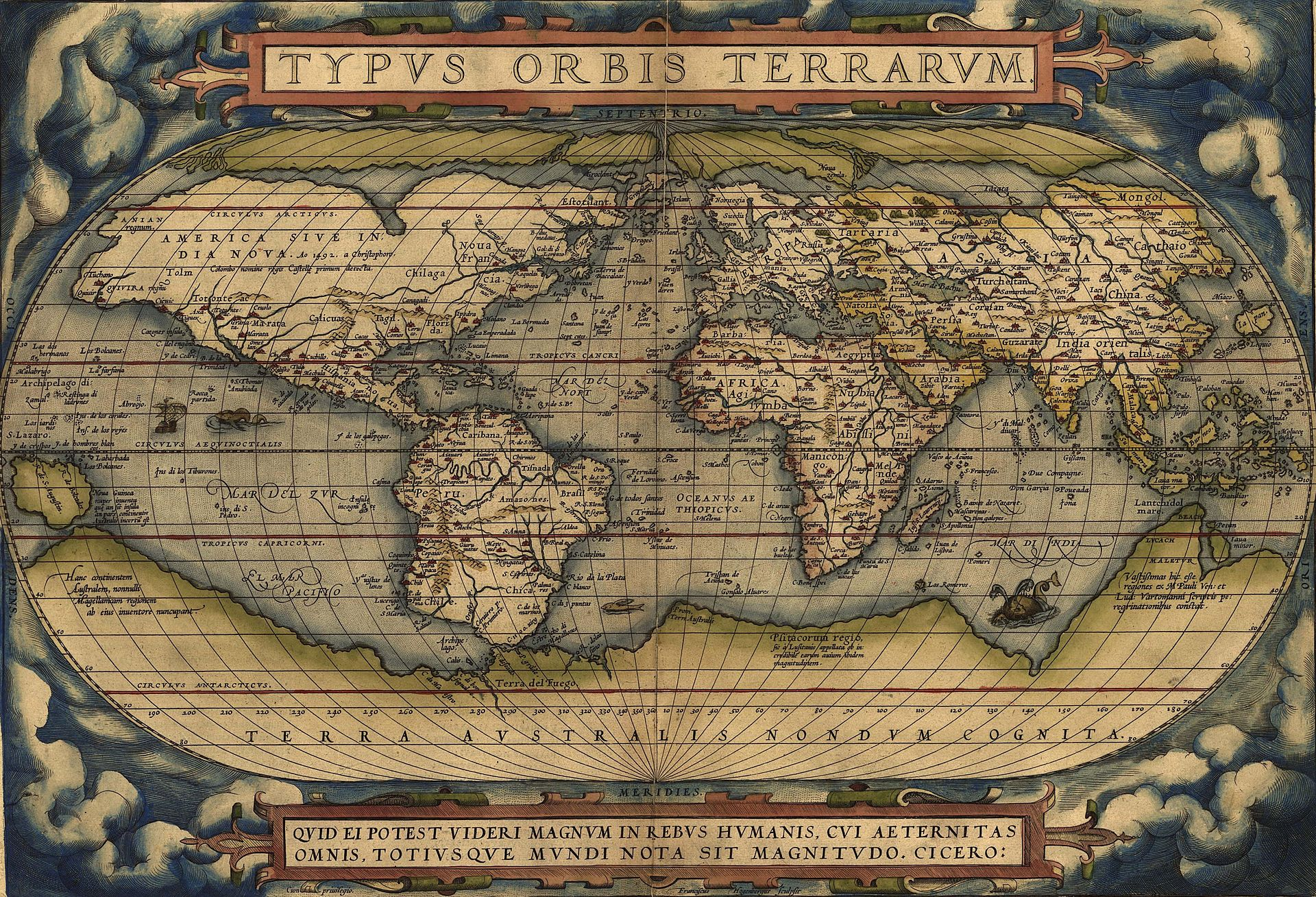 Mapping our world learnz this map was created by abraham ortelius and was first published in 1564 how have world maps changed since then image abraham ortelius wikipedia gumiabroncs Image collections