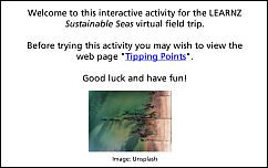 Tipping Points activity