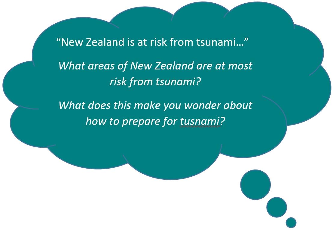 Tsunami monitoring and evacuation maps | LEARNZ
