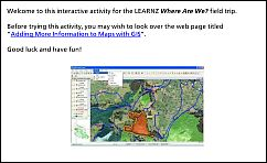 Activity 4 - Adding More Information to Maps with GIS