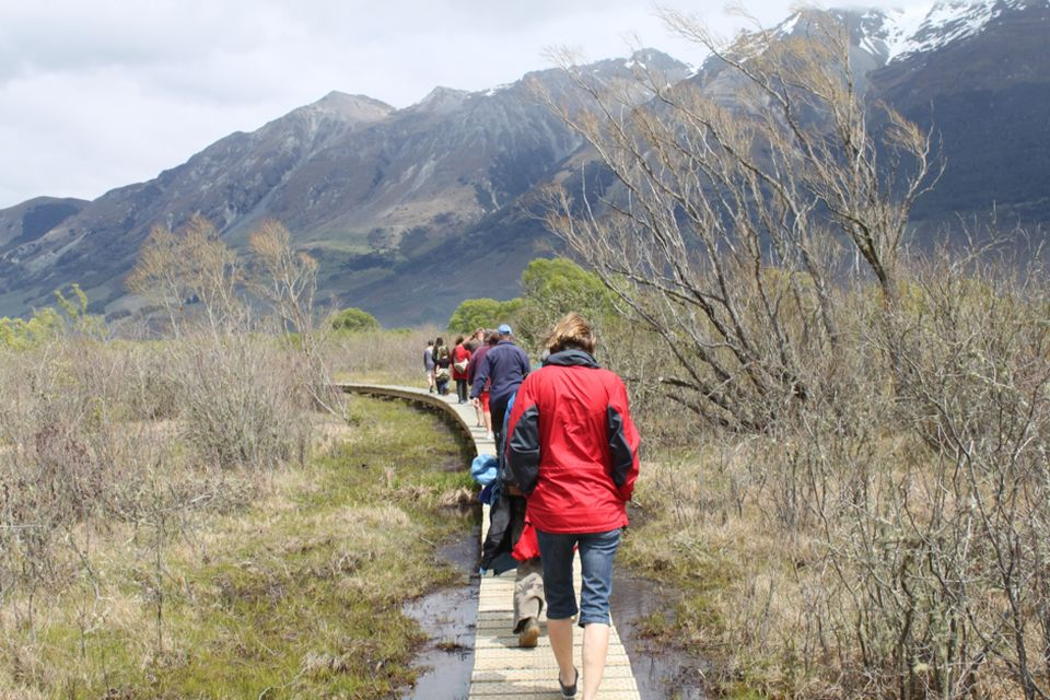 Glenorchy Lagoon, Glenorchy. Image: Walking Access