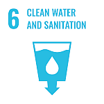 Goal 6 Clean water and sanitation.