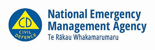 National Emergency Management Agency logo.